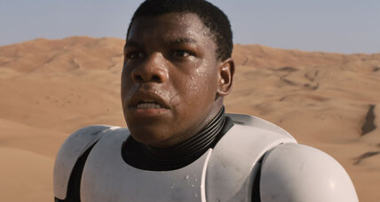 A black storm trooper? 'Star Wars' awakens forceful debate about race.