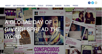 Britain jumps on board the #GivingTuesday movement