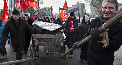 Healthcare reform brings protesters to the streets – in Russia