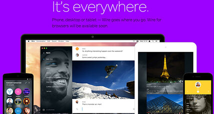 Elegant new messaging app Wire embraces extreme minimalism