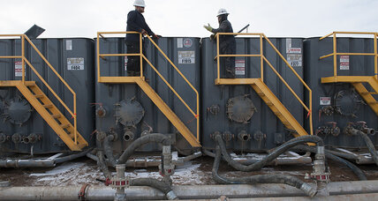 Oil prices plunge. Is a shale bubble bursting?