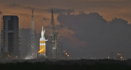 Historic Orion launch delay: What went wrong? (+video)