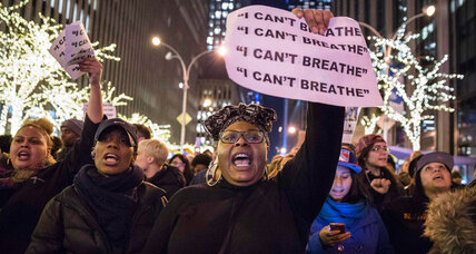 Amid anger over Eric Garner, a unique moment for change in NYPD (+video)
