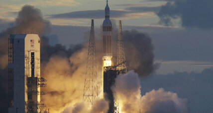 Orion test flight enters the history books (+video)