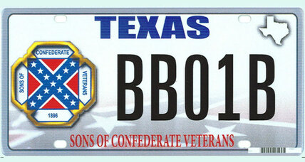 Can states refuse to issue Confederate flag license plates?
