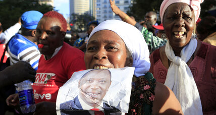 Kenyans rejoice at collapse of ICC case against President Kenyatta