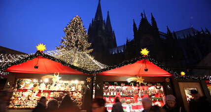 In Germany, a Christmas market of a different sort