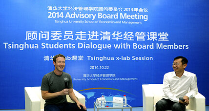 Facebook launches charm offensive. Can it win over Chinese officials? (+video)