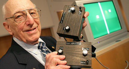 Ralph Baer was the father of the video game industry