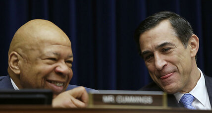Issa and Cummings praise each other: Return of comity or moment of calm?