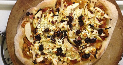 Butternut squash pizza