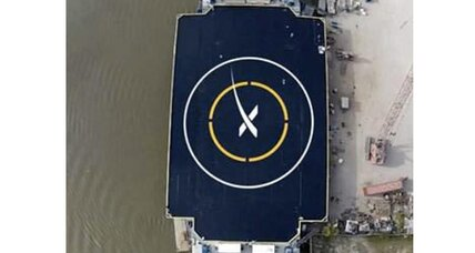 Can SpaceX land a rocket on a floating ocean platform?