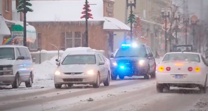 Why police in one town are giving out Christmas gifts instead of tickets