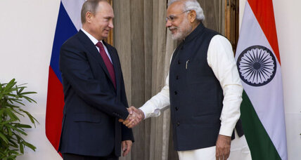 How can India be BFFs with both Russia and the United States?