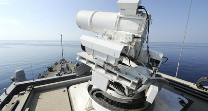Why the Navy is excited about new laser weapons (+video)