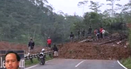 Mudslide sweeps away over 100 homes in Indonesia; dozens missing
