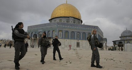 Jerusalem crisis: Amid violence, seeking paths to peace