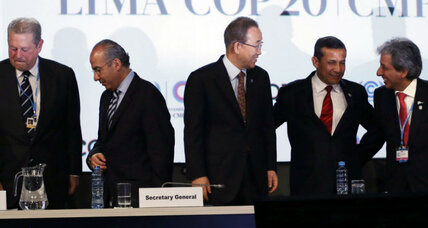What do Lima climate talks have in common with 'Stone Soup'?