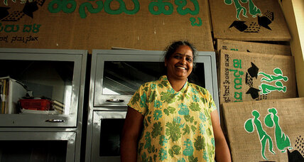 Nalini Shekar put aside retirement to help India's waste pickers