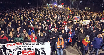 In Germany, anti-Islam voices grow louder, worrying leaders (+video)