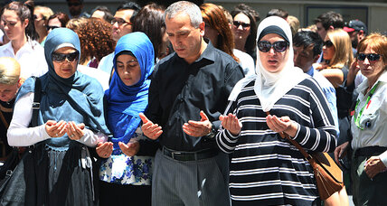 In wake of hostage crisis, Australian Muslims say no backlash to faith (+video)