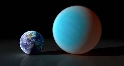 Ground-based telescope spots alien 'Super-Earth'