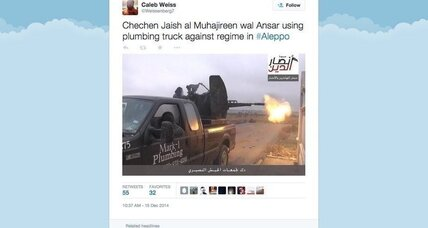 How did a Texas plumber's truck end up with Syrian rebels?