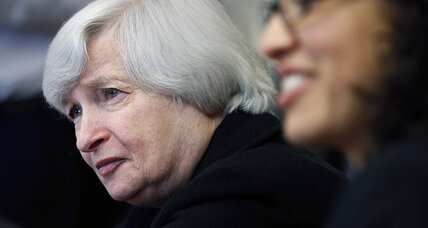 Fed removes 'considerable time' from rate guidance. Stocks surge.