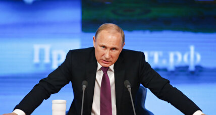 Putin: Russia just has to tough out economic storm (+video)