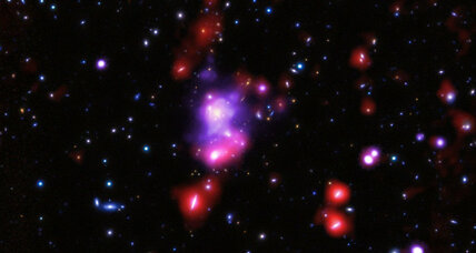 How massive galaxy cluster could upend theory of universe evolution