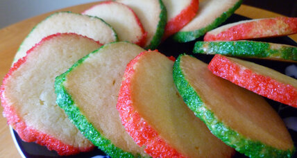 Diamond-edged, melt-in-your-mouth butter cookies