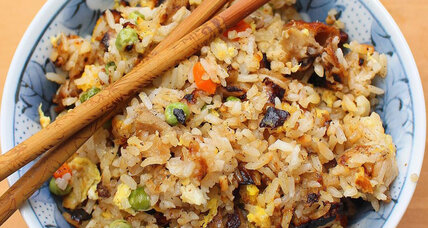 Chinese food leftovers? Make duck fried rice