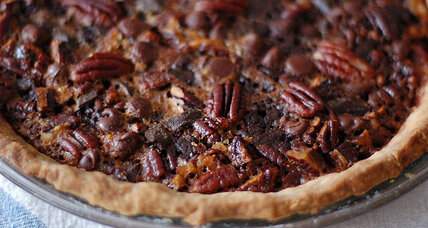 Maple chocolate pecan pie