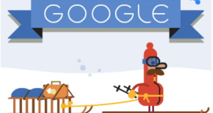 'Tis the season: Six Google Doodles of Christmases past