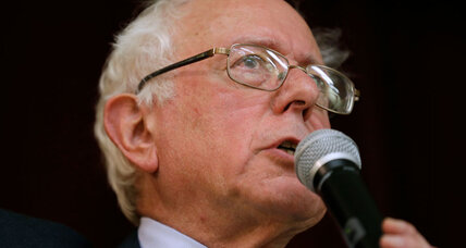 Sen. Bernie Sanders to run for president? A Ross Perot of the left, perhaps.