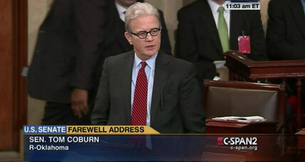 Tom Coburn: farewell to a rabble-rousing statesman