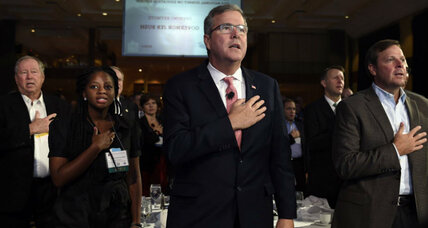Jeb Bush surges to double-digit lead among 2016 GOP presidential contenders