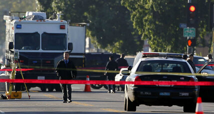 Calls for calm, restraint after attack on Los Angeles police officers