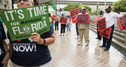 Florida argues judge's gay marriage ruling only applies to one couple