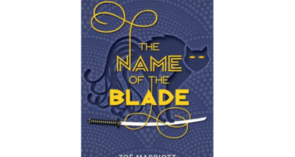 'The Name of the Blade' is a tough, sassy mélange of Japanese folklore and modern teen Britain