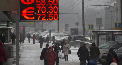 Russian ruble falls against dollar even as oil prices inch up