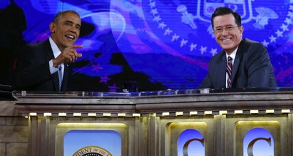 Obama on Colbert: What he said about Keystone XL (+video)