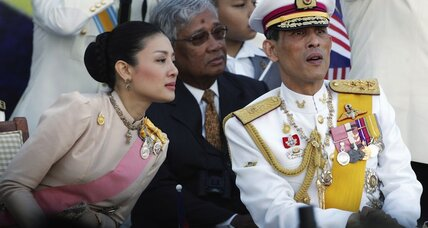 In monarchist Thailand, does money now trump a royal title?