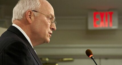 Republicans divided over Senate torture report. Dick Cheney in the spotlight