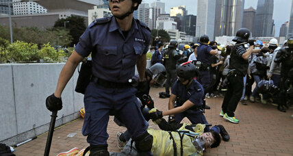 Forty arrested in Hong Kong pro-democracy protests
