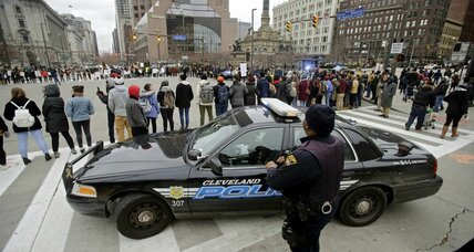 Justice Department cites Cleveland police for excessive use of force