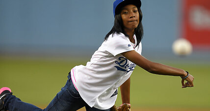 What a coach first noticed about Mo'ne Davis (+video)