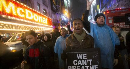 Eric Garner: Chokehold his own doing, or 'death by economic regulation'? (+video)