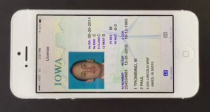 Iowa passes the nation's first digital driver's license law