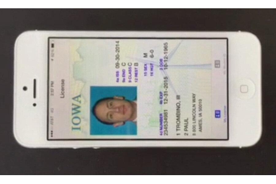 update address on drivers license iowa